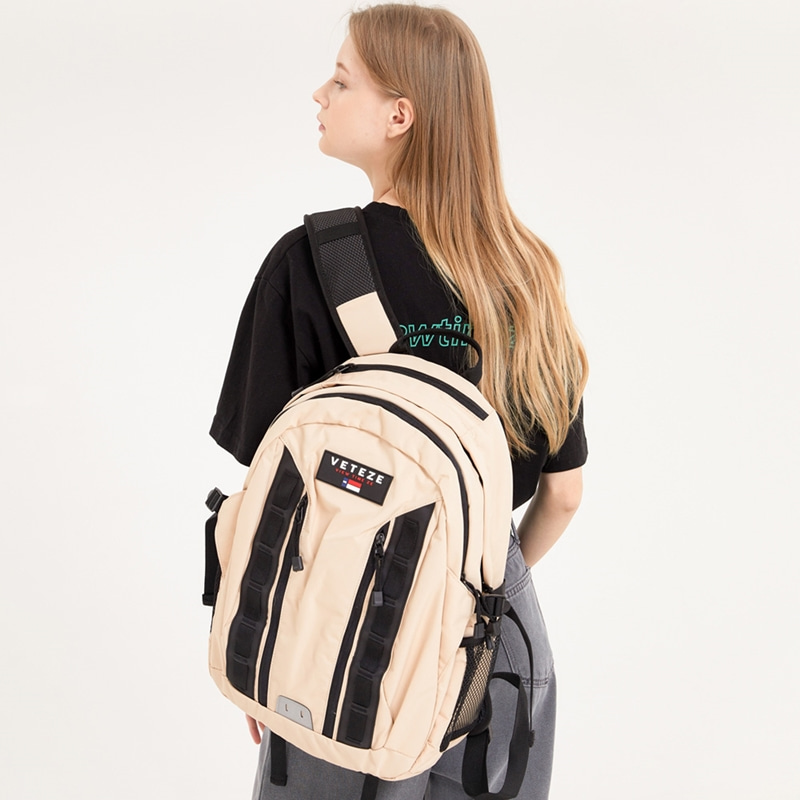 Double Youth Backpack (beige)