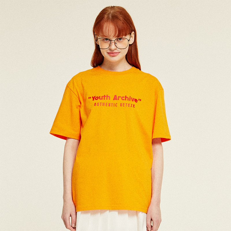 Youth Half T-Shirts (orange)