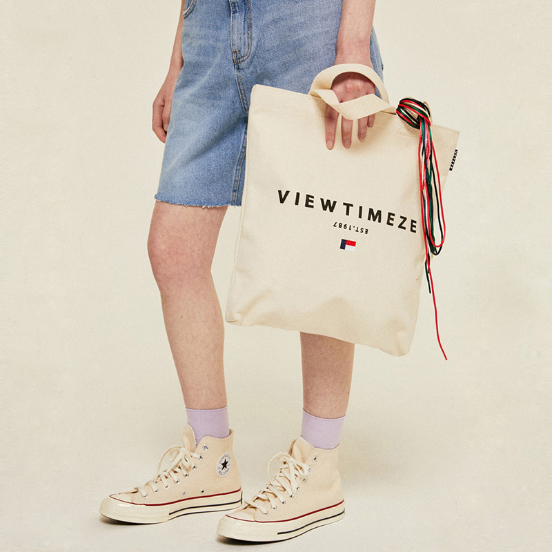 [6월3일 출고예정]Heritage Eco Bag (cream)