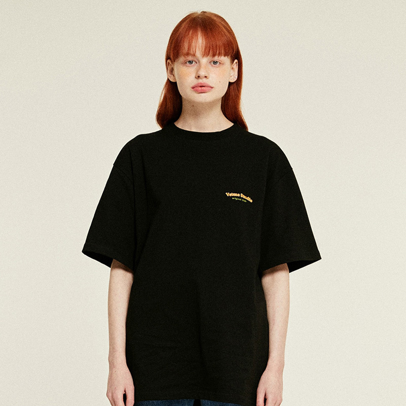 [6월11일 출고예정]Studio Half T-Shirts (black)