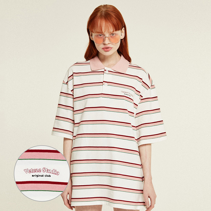 Studio PK Stripe T-Shirts (cream)
