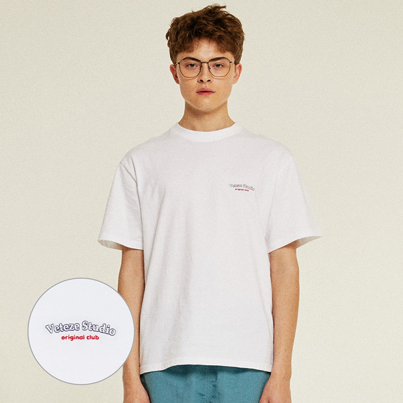 Studio Half T-Shirts (white)