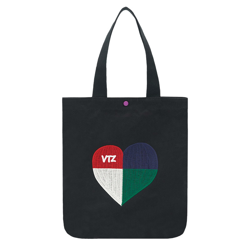 Heart Logo Eco Bag (black)