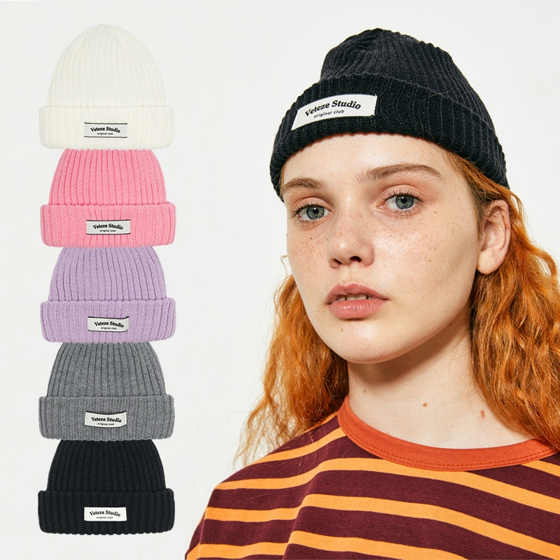 Studio Short Beanie(5color)