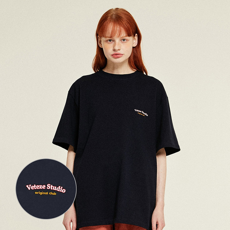 Studio Half T-Shirts (navy)