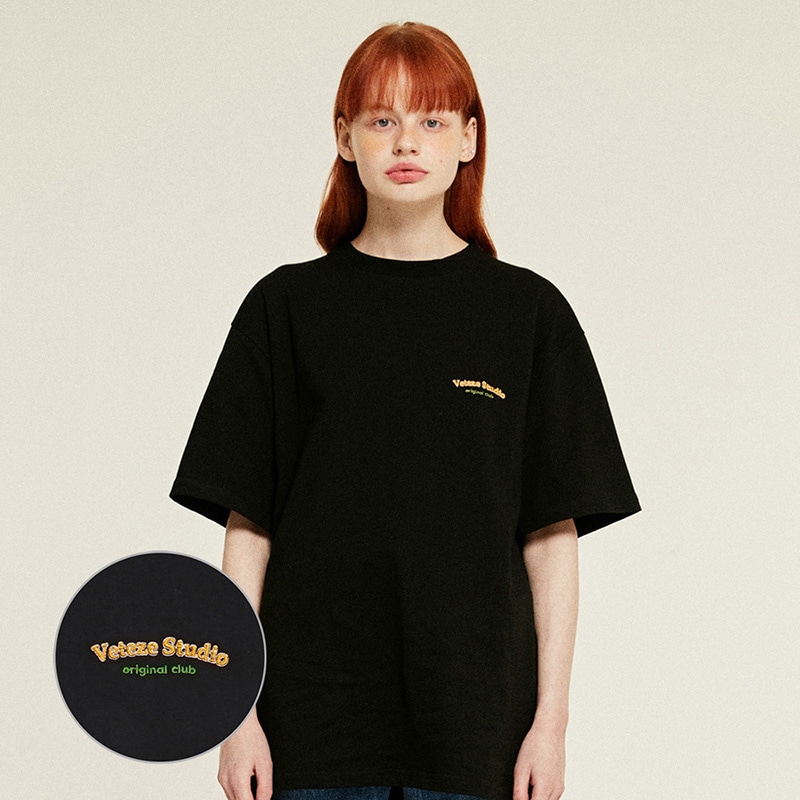 Studio Half T-Shirts (black)